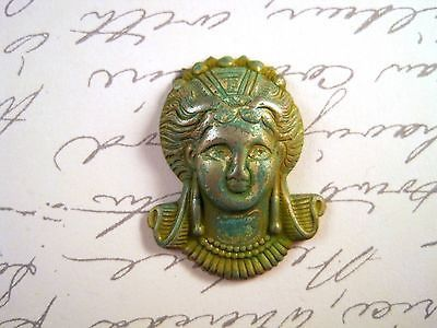 SG9045 1 Large Raw Brass Marie Antoinette Stamping