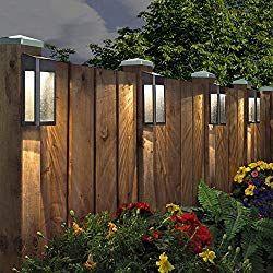 20 best solar fence post lights 2019 reviews power nerd backyard lighting fences 12v outdoor string