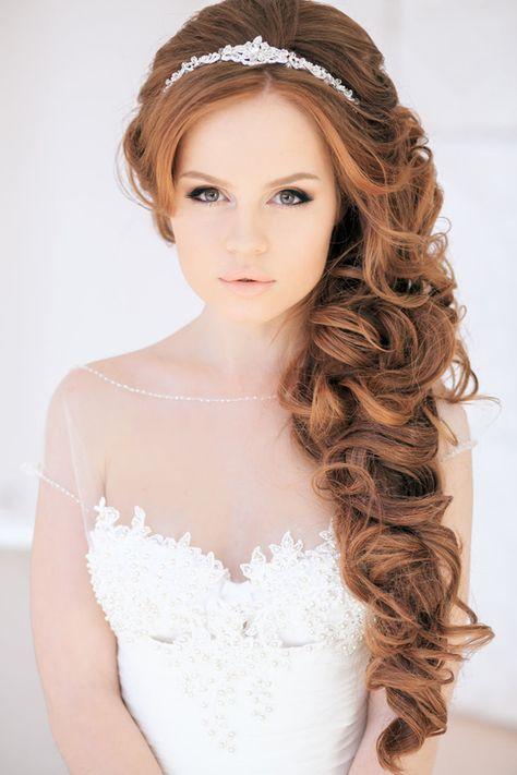 La moda en tu cabello: Peinados con pelo suelto para Novias 2016 ...