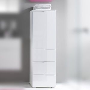 Badezimmer Regal Weiss Hochglanz Collection In 2020 Locker