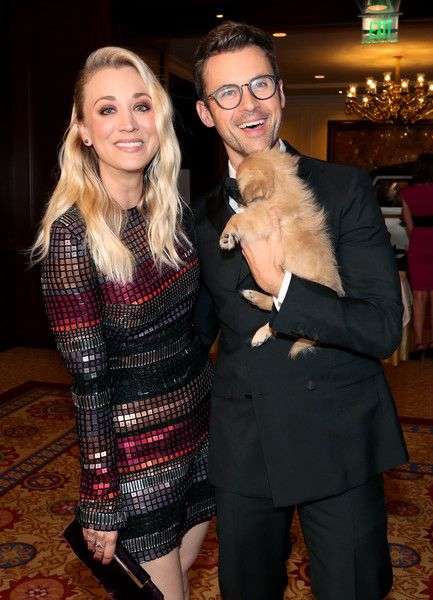 Paw Works Celebrity Ambassador/Board Member Kaley Cuoco and Paw Works Celebrity Ambassador Brad Goreski attend the James Paw 007 Ties & Tails Gala at the Four Seasons Westlake Village.