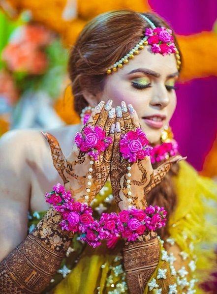 Bridal Floral Jewellery New Mehndi Designs Fashion Bridal