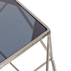 Buy Argos Home Palm Luxe Occasional Table Silver Argos Home