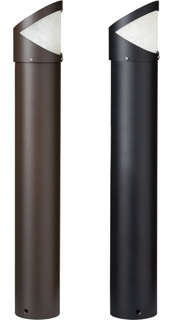 Kichler 16132azt28 16132bkt28 Side Throw 12v Led Bollard Path Light Kichler Bollards Deep Discount Lighting 2800k Kichler Bollard Lighting Black Lamps