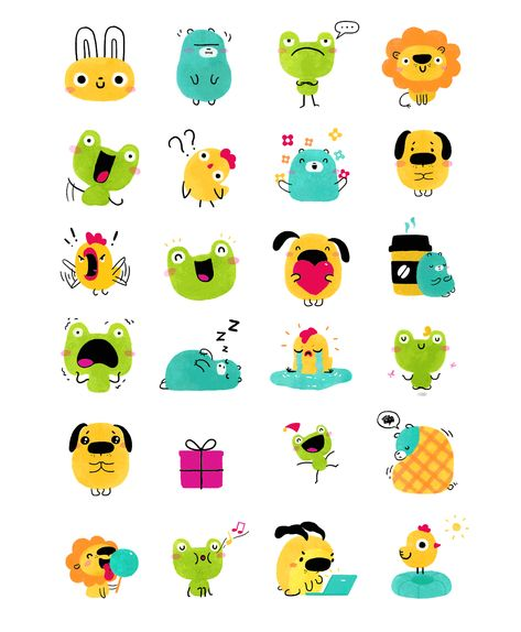 Doodlings Sticker Pack