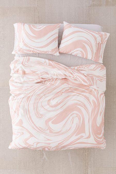 Swirl Duvet Cover Set Duvet Cover Sets Duvet Covers Pink Duvet