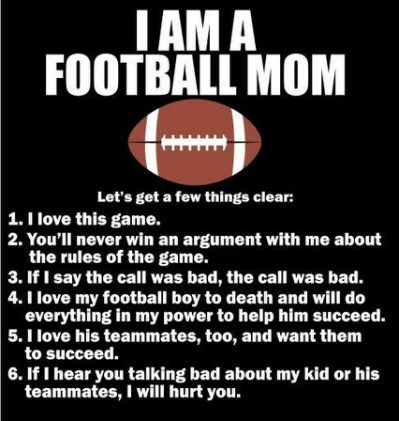 Funny Football Quotes For Moms Football Mom Quotes Football Quotes Team Mom Football