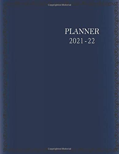 Appointment Calendar 2022.2021 2022 Two Year Planner Navy Blue Cover 24 Months Agenda Business Personal Plan Monthly Weekly Organizer Appoint Yearly Planner Planner Weekly Organization