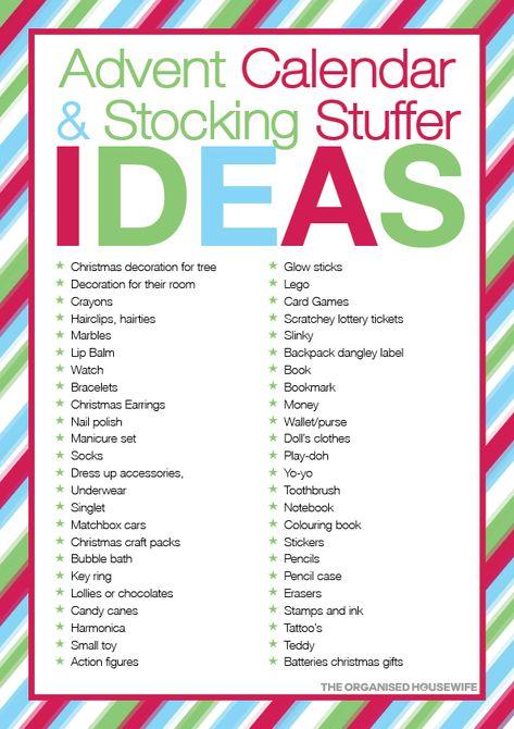 Loads of fun and imaginative Christmas stocking stuffer ideas for kids.