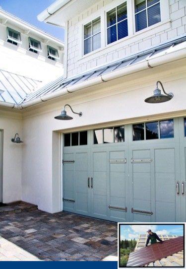 Metalldachfarben Holzkohle Und Abc Metalldach Farbkarte Abcmetalldachfarbkarte Holzkohle Metall In 2020 Garage Door Design House Exterior Blue Exterior Door Colors