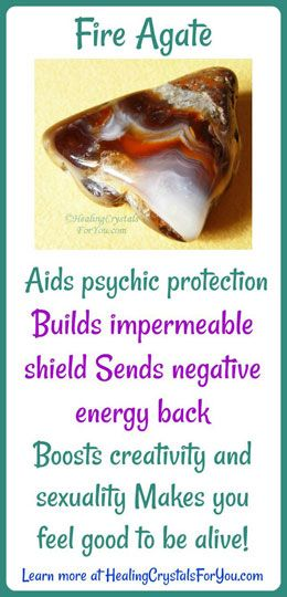 Fire Agate Meaning Send Negative Energy Back Build Impermeable