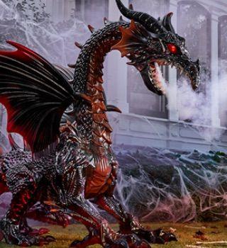 Dragon Halloween Decorations.Pin On Halloween And Fall