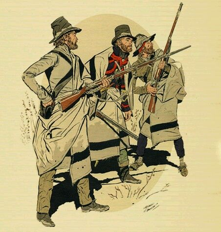 American Militia, War of 1812