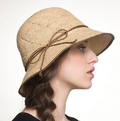 f735e47be2e1a Handmade flower straw sun hat beach wear for women