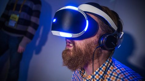 Project Morpheus - Sony's upcoming VR headset for Playstation 4.