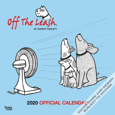 Off The Leash 2020 12 X 12 Inch Monthly Square Wall Calendar Fun