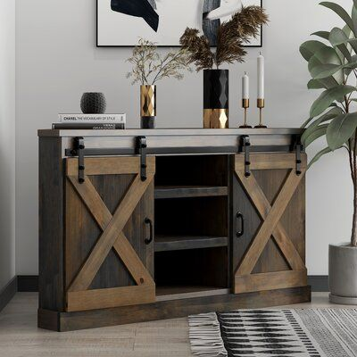 Loon Peak Pullman TV Stand for TVs up to Colour: Barnwood Decor, Wood Cabinets, Barn Wood, Wood Corner Tv Stand, Furniture, Rustic Design, Tv Stand, Decor Essentials, Home Decor Outlet
