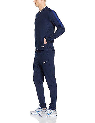 ecdd628089b9d4 NIKE Men's Academy 16 Knit Tracksuit (M, Dark Blue) | Nike | Nike ...