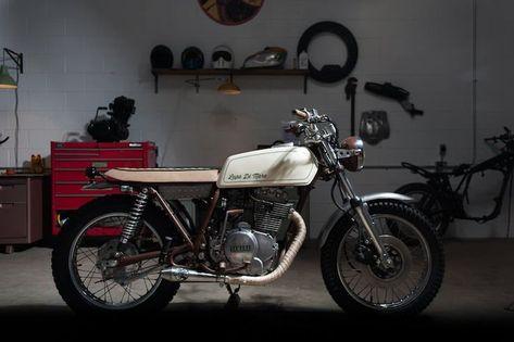 "Yamaha XS360 Custom – ""Lupo di Mare"""