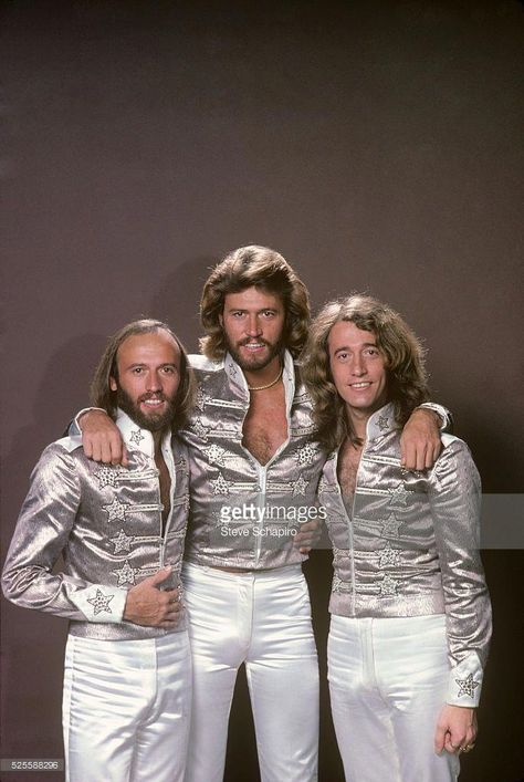 The Bee Gee's were a very popular band during the 70's. They were known for their disco music, the style of music for that time. #BeeGees