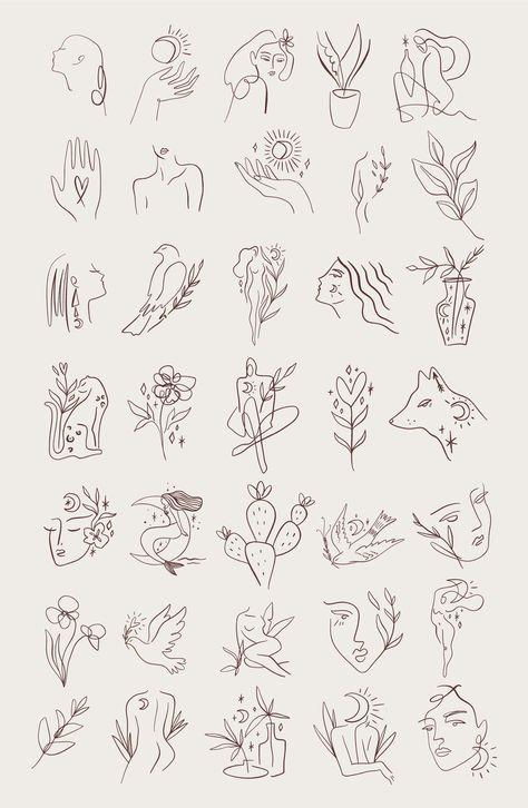 Inspirational Tattoos, Simplistic Tattoos, Tattoos, Future Tattoos, Art Tattoo, Line Art, Art, Art Bundle, Tattoo Designs