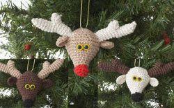 Lily Sugar N Cream Reindeer Ornament