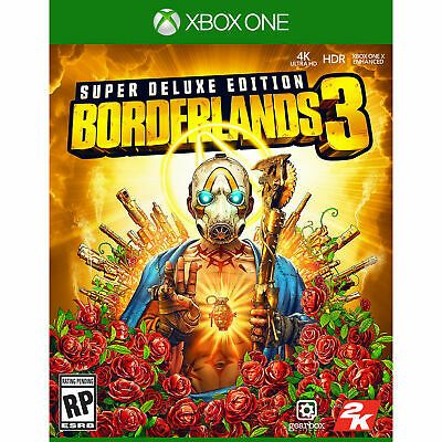 Borderlands 3 Super Deluxe Edition 2019 Xbox One Borderlands3 Borderlands Ps4 With Images Borderlands Xbox One Borderlands 3