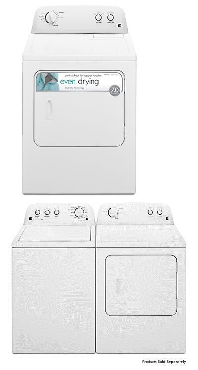 Dryers 71254 Kenmore 72332 7 0 Cu Ft Gas Dryer In White Includes Delivery And Hookup Buy It Now Only 814 34 On Ebay Dryers Gas Dryer Kenmore Dryer