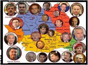 Adevarata Harta A Clanurilor Mafiote Din Romania Romani Hartă