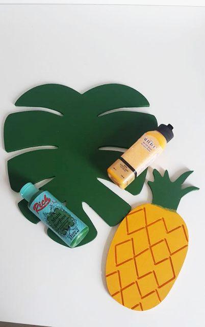 Kendin Yap I Ahsap Supla Ve Ananas Boyama Kendin Yap Kolay Ahsap Projeleri Boncuk