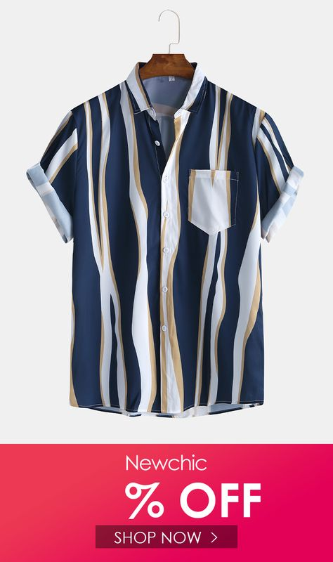 I found this amazing Mens Plain Color Striola Chest Pocket Casual Short Sleeve Shirts with ₹14.99,and 14 days return or refund guarantee protect to us. --Newchic