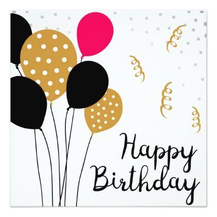 Happy Birthday Card Zazzle Com Happy Birthday Gifts Happy