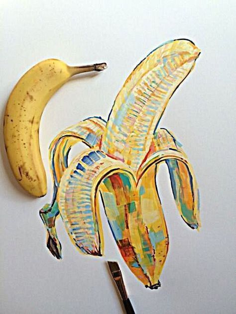 noelbadgespugh:  banana study #5 #foodyhanoi #foodsnap #italianfood #foodgasm