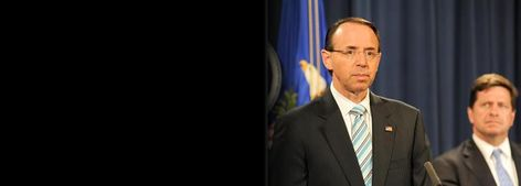 Deputy Attorney General Rosenstein announces Task Force on Market Integrity and Consumer Fraud
