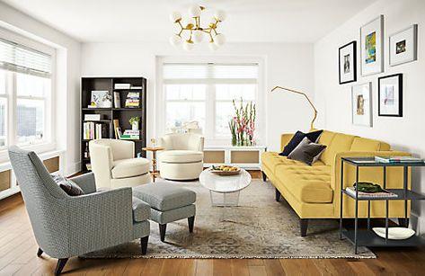 Room & Board -  Anjora Rugs - Modern Patterned Rugs - Modern Entryway Furniture