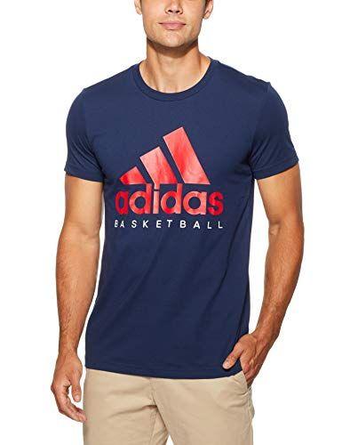 adidas T-Shirt de Basketball Graphic à Manches Courtes pour Homme ...