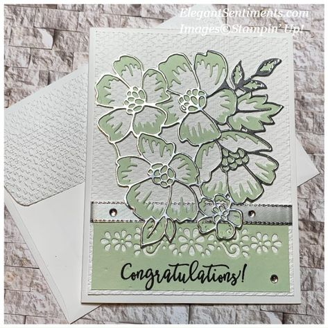 Vintage Birthday Cards, Handmade Birthday Cards, Flower Outline, Card Sentiments, Beautiful Handmade Cards, Happy Birthday Greetings, Stamping Up Cards, Congratulations Card, Blossom Flower