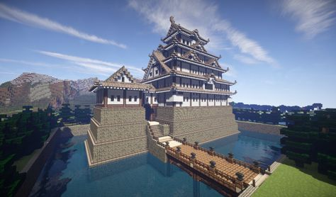japanese pagoda house in minecraft minecraft inspiration pinterest japanese pagoda minecraft stuff and minecraft buildings