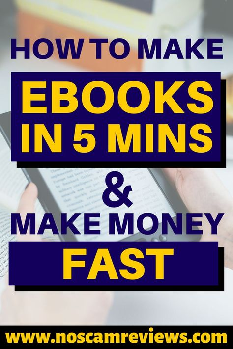 How To Earn Passive Income By Writing Ebooks!