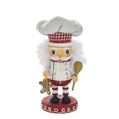 Kurt Adler Gingerbread Hollywood Chef Nutcracker