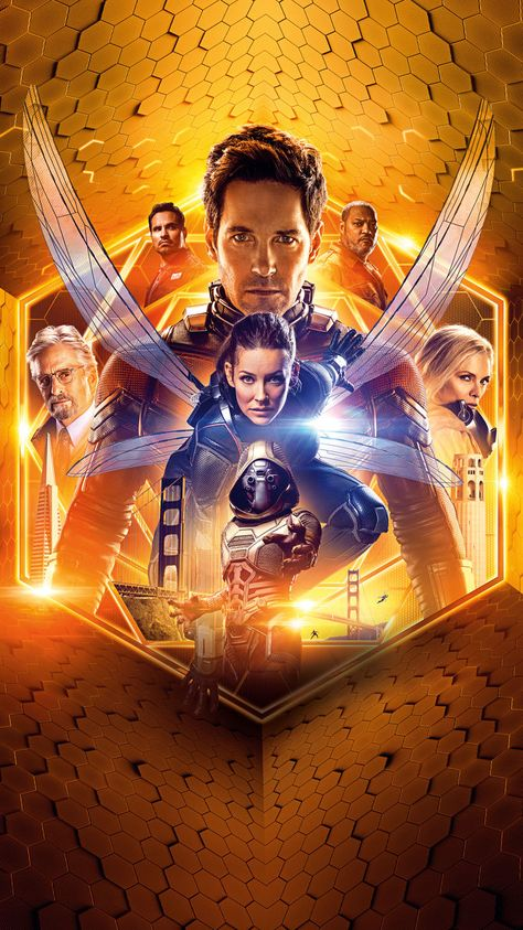 Ant-Man and the Wasp (2018) Phone Wallpaper | Moviemania