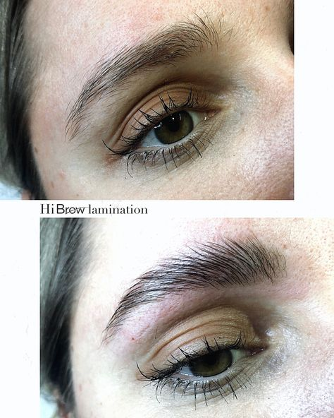 Hi Brow Lamination Before And After 2020 Kas