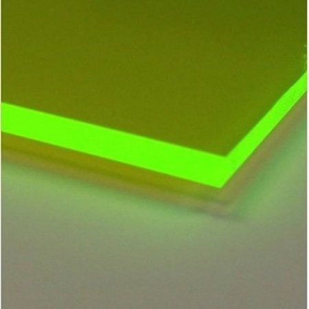 One Green 9093 Fluorescent Acrylic Plastic Sheet 1 8 24 X 24 Plastic Sheets Plexiglass Sheets Acrylic Plastic