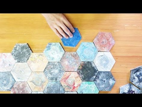 Fancy Hexagon Tiles Mold,Fancy Hexagon Tiles Mold Weld A Mould To Make Colourful Tiles From Plastic Waste,