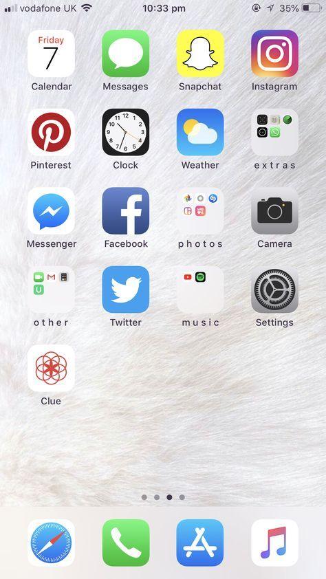Iphone Organize Apps Ideas