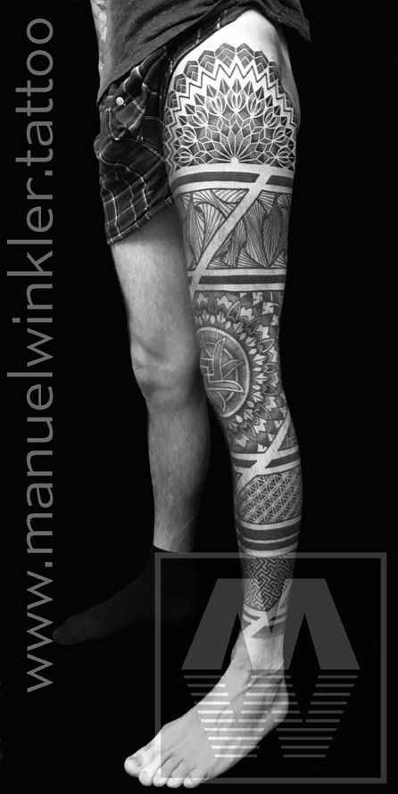 Some more progress on this legsleeve