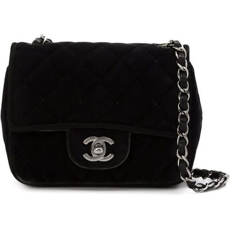 0c9cf98cbb99 Chanel Vintage Mini Flap Crossbody Bag ($2,750) ❤ liked on Polyvore  featuring bags,