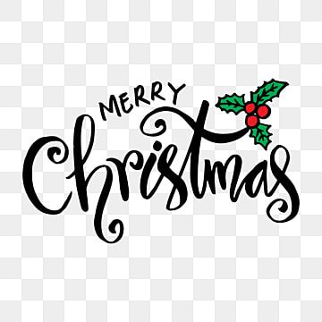 Merry Christmas Typography With Christmas Elements Merry Christmas Christmas Merry Christmas Text Png And Vector With Transparent Background For Free Downloa Merry Christmas Text Christmas Text Christmas Typography