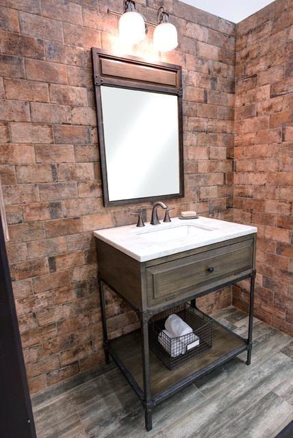 Architecture Industrial Style Bathroom Vanities Look Bath Vanity