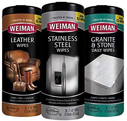 Weiman Granite Cleaner And Polish 24 Fluid Ounce 2 Pack For Daily Use Enhances Natural Color In Granite Quartz Ma Granite Cleaner Marble Granite Cleaning